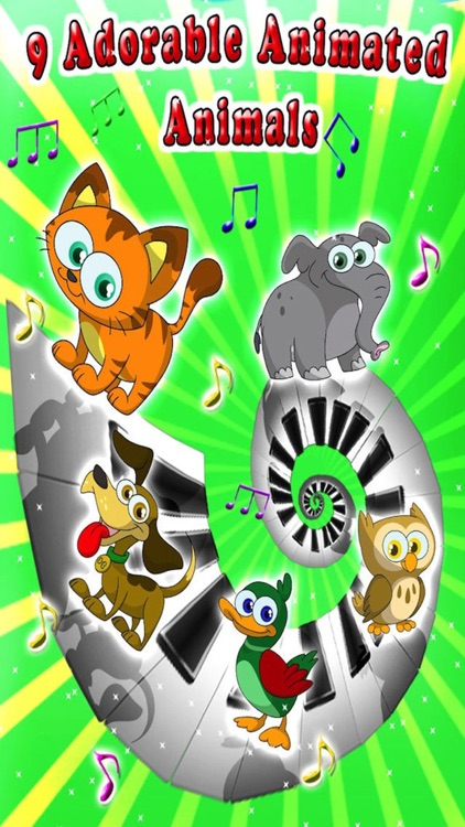 Kids Animal Piano Game screenshot-4