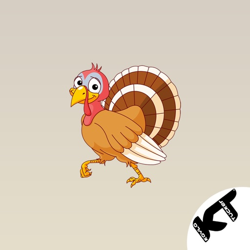 Turkey - Thanksgiving stickers icon