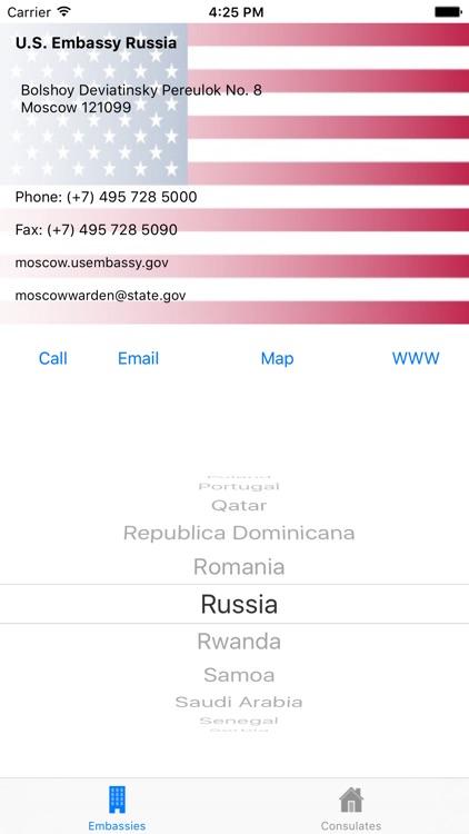 U.S. Embassies & Consulates