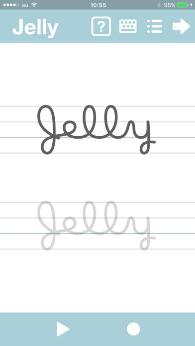 筆記体が書けるようになるアプリ abCursiveのおすすめ画像5