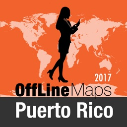 Puerto Rico Offline Map and Travel Trip Guide