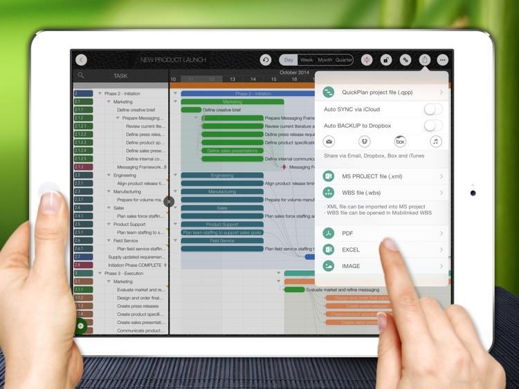 QuickPlan - Project Management screenshot-4