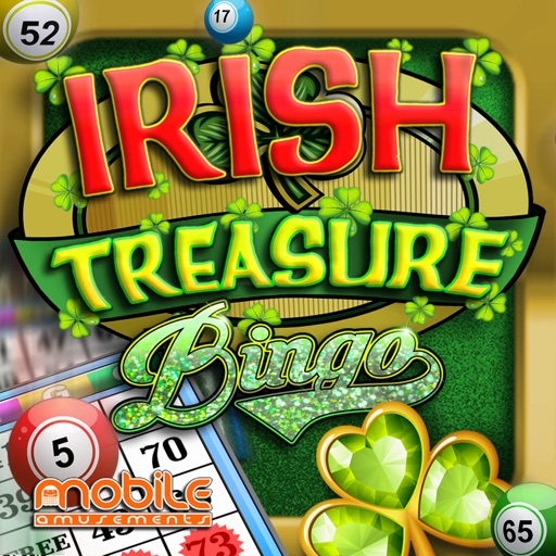Irish Treasure Rainbow Bingo