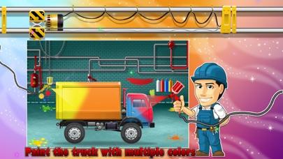 Truck Factory - Super cool vehicle maker simulator game for crazy mechanics screenshot four