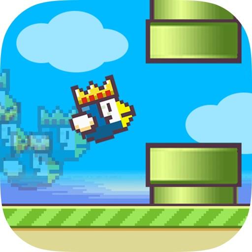 Flappy Eagle - Tiny Bird Hop over Huge Bottle