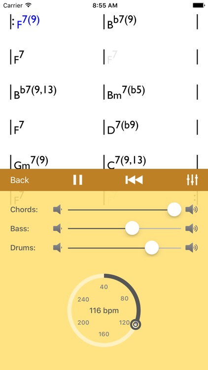 Chords Player screenshot-2