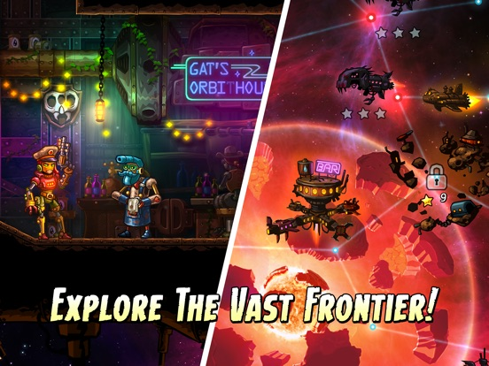 Screenshot #3 for SteamWorld Heist