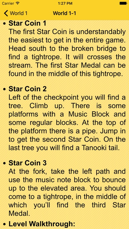 Guide for Super Mario 3D Land
