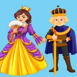 Royal Family Stickers - Princess, Prince & Crowns