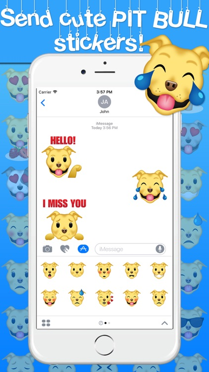 Pitmoji - Pit Bull Emoji & Stickers screenshot-1
