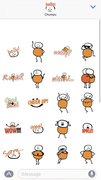 Chumpu Stickers