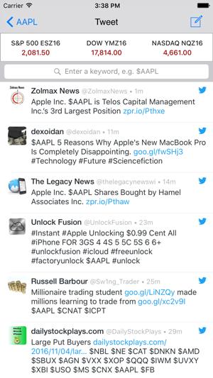 Fibonacci Stock Chart Trading Signal In Stocks On The App Store