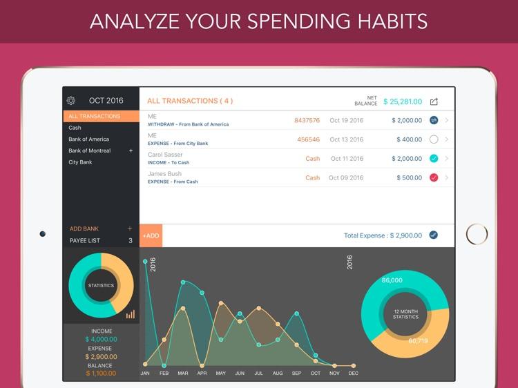 Accountee - Cheque & Cash Manager screenshot-3