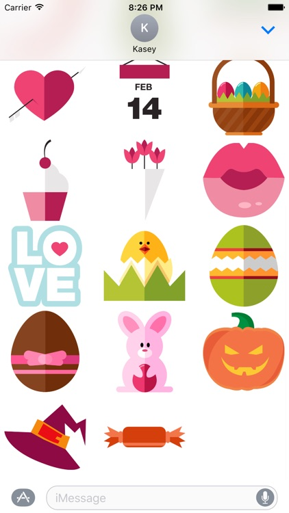 Holiday Stickers Pack