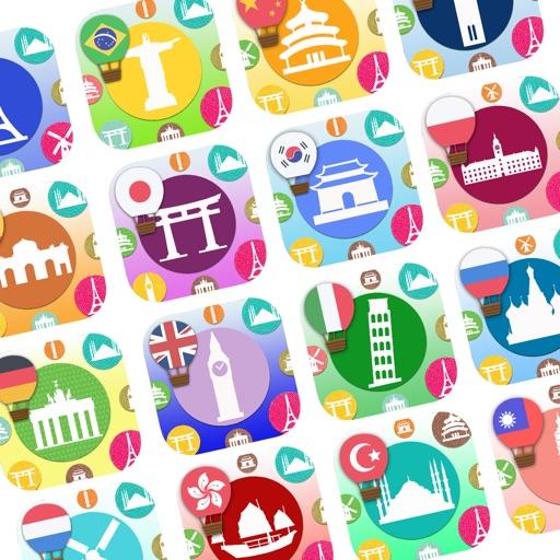 Unlock 15 Languages for 300+ Flashcards