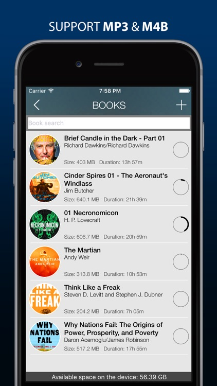MP3 Audiobook Player Pro - listen audiobooks!