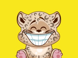 Leopard Stickers