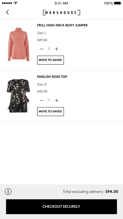 Warehouse Fashion screenshot-3