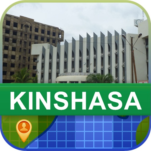 Offline Kinshasa, Congo Map - World Offline Maps