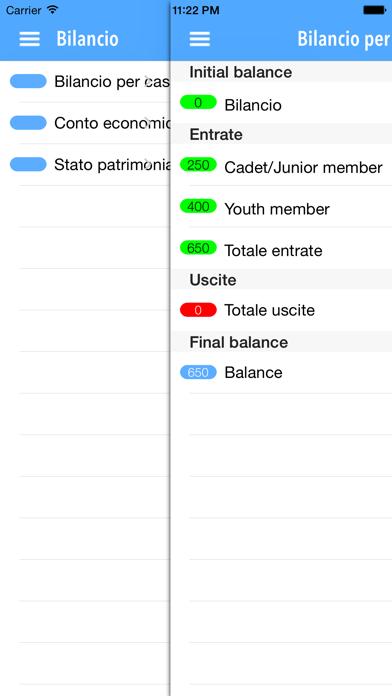 Club Administrator:  Amministrazione e contabilità