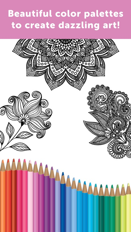 Adult Coloring Book - Coloring Book for Adults screenshot-4