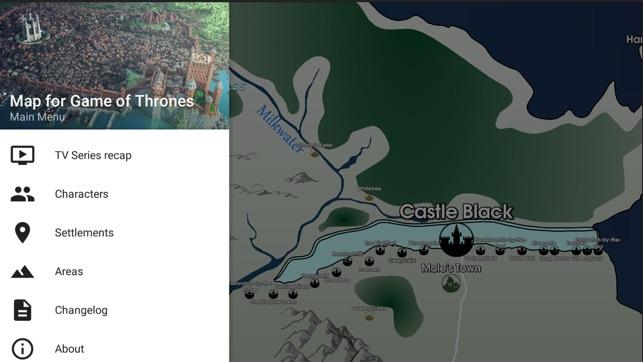 GoT Map Recap On The App Store