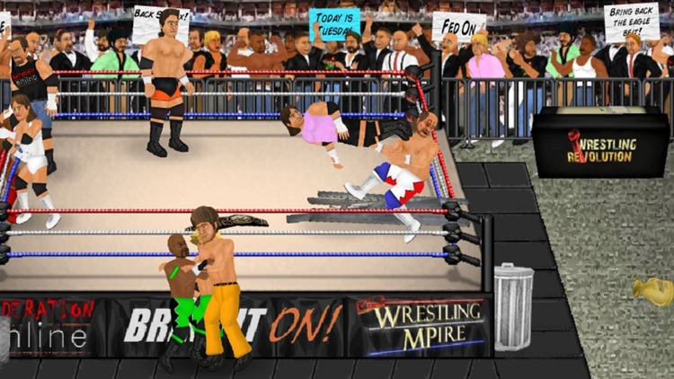 Wrestling Revolution screenshot-0