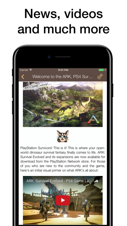 Pocket Wiki for ARK: Survival Evolved screenshot-4