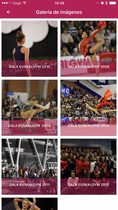 euskalgym | Gala InternacionalCaptura de pantalla de3
