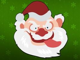 Shocking Santa - Santa Claus Gone Bad Stickers
