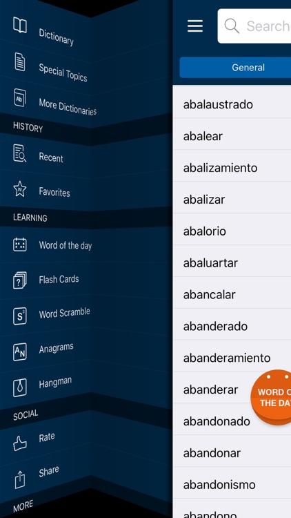 VOX General Spanish Dictionary and Thesaurus screenshot-4