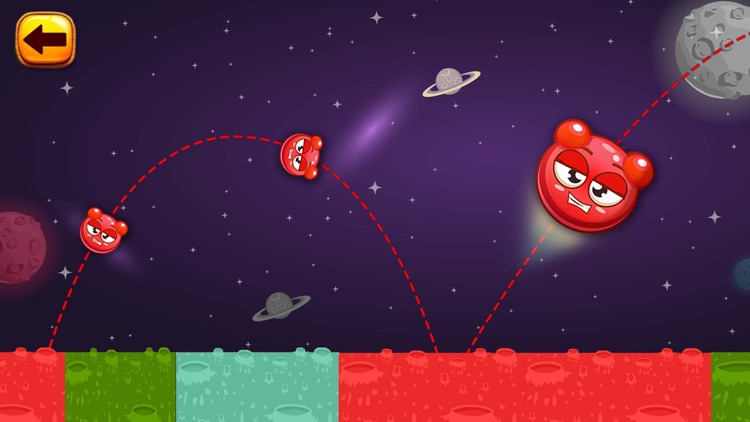 King of Bounce: Monster Jump on Color Tile in Space Travel