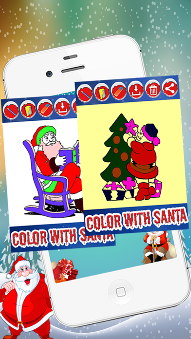 Christmas Coloring  Game For Kids & Adults screenshot four
