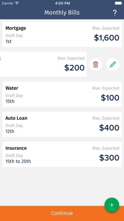 BillGenius - Manage bills, income, & bank account screenshot-0