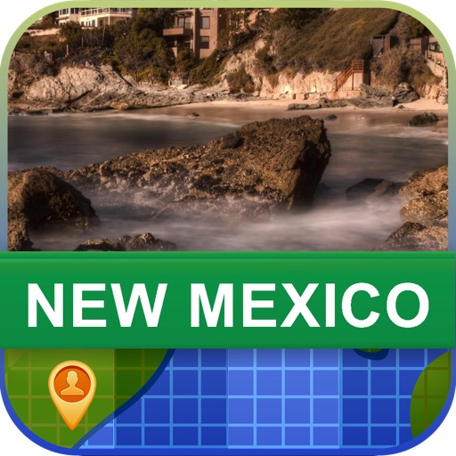 Offline New Mexico, USA Map - World Offline Maps