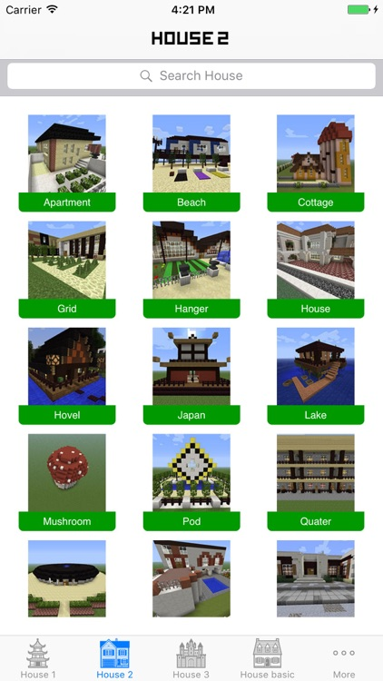 House & Building ideas guide for Minecraft PE screenshot-3