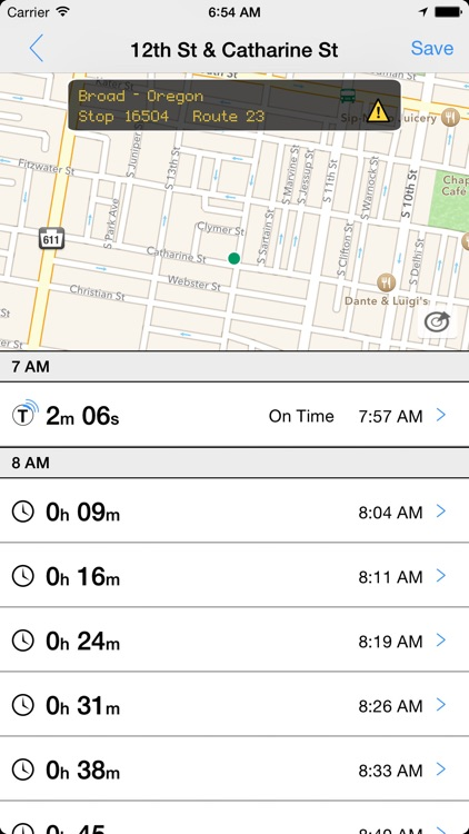 Transit Tracker - Philadelphia (SEPTA) screenshot-0