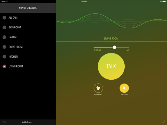 Screenshot #5 pour Intercom for Sonos