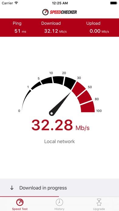 Speedchecker Speed Test Screenshots