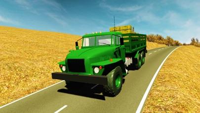 Army Transporter Truck Driver Simulator
