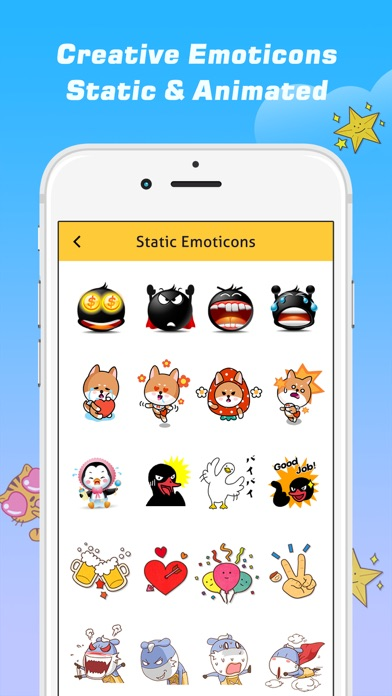 Emoji Free – Emoticons Art and Cool Fonts Keyboard-2