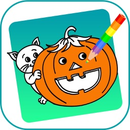 Coloring Book Halloween - Free Coloring book
