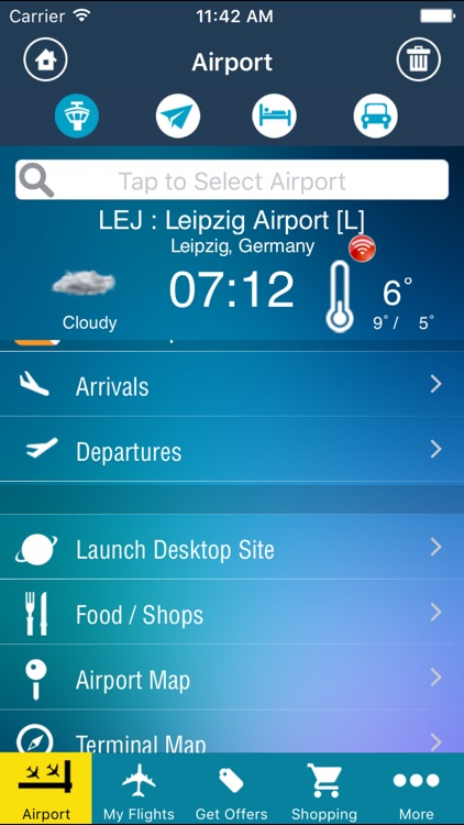 Leipzig Halle Airport Pro (LEJ) + Flight Tracker
