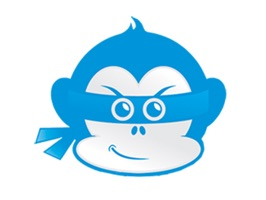Have fun with your friends and share a Ninja Monkey sticker