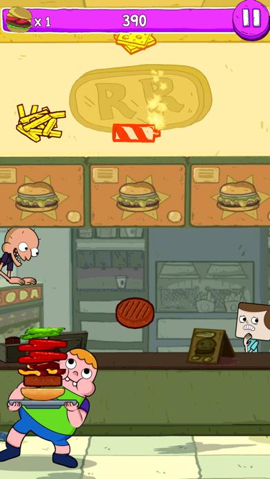 Blamburger phone App screenshot 1