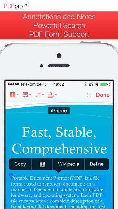PDF Pro 2 – Die ultimative PDF AppScreenshot von 1