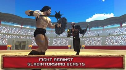 Immortal Gladiator Fighting Arena 3D Full screenshot two