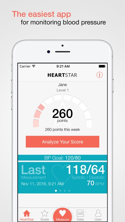 HeartStar BP Monitor screenshot-0