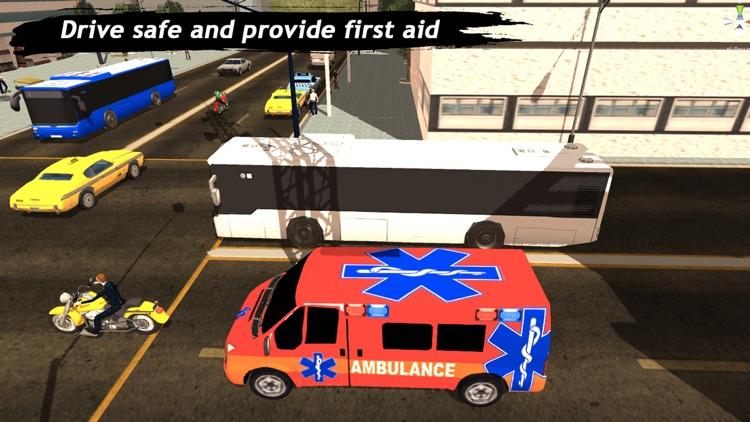 Ambulance Simulator : Rescue Mission 3D screenshot-4