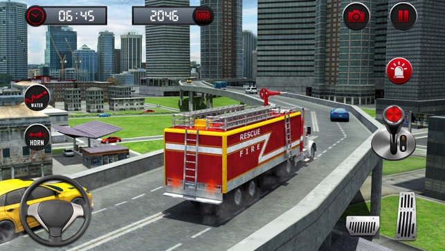 Rescue Fire Truck Simulator Game: 911 Firefighter on the App Store